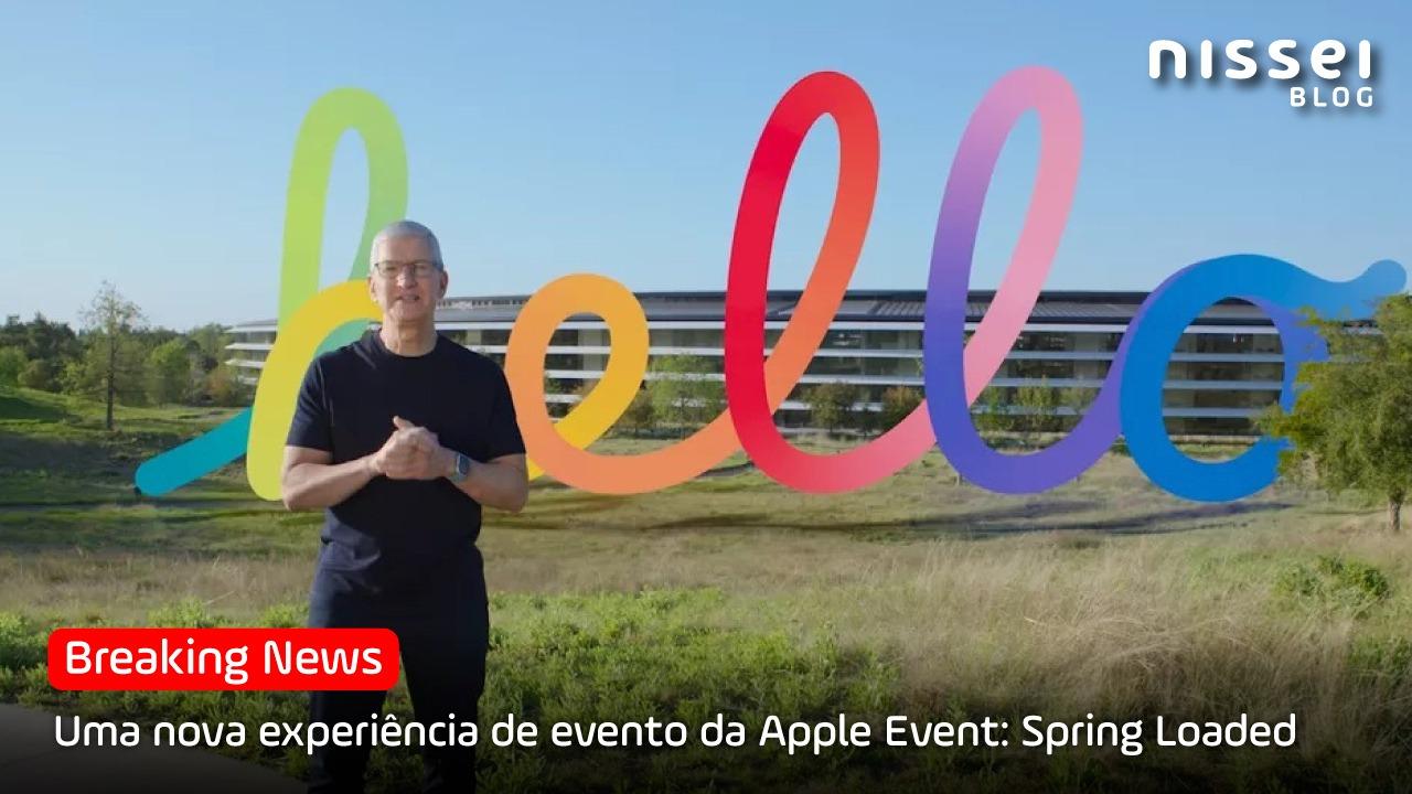 Apple lança seus 5 novos dispositivos