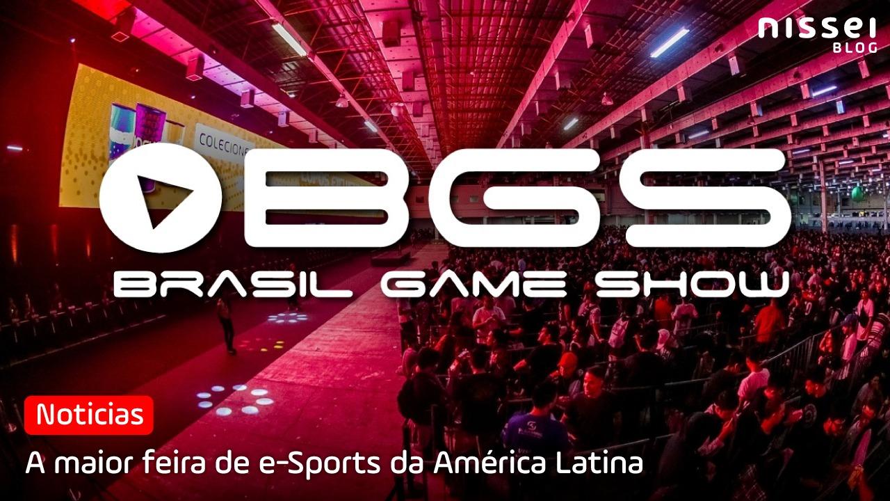 BGS: anunciadas novas datas para Brasil Game Show