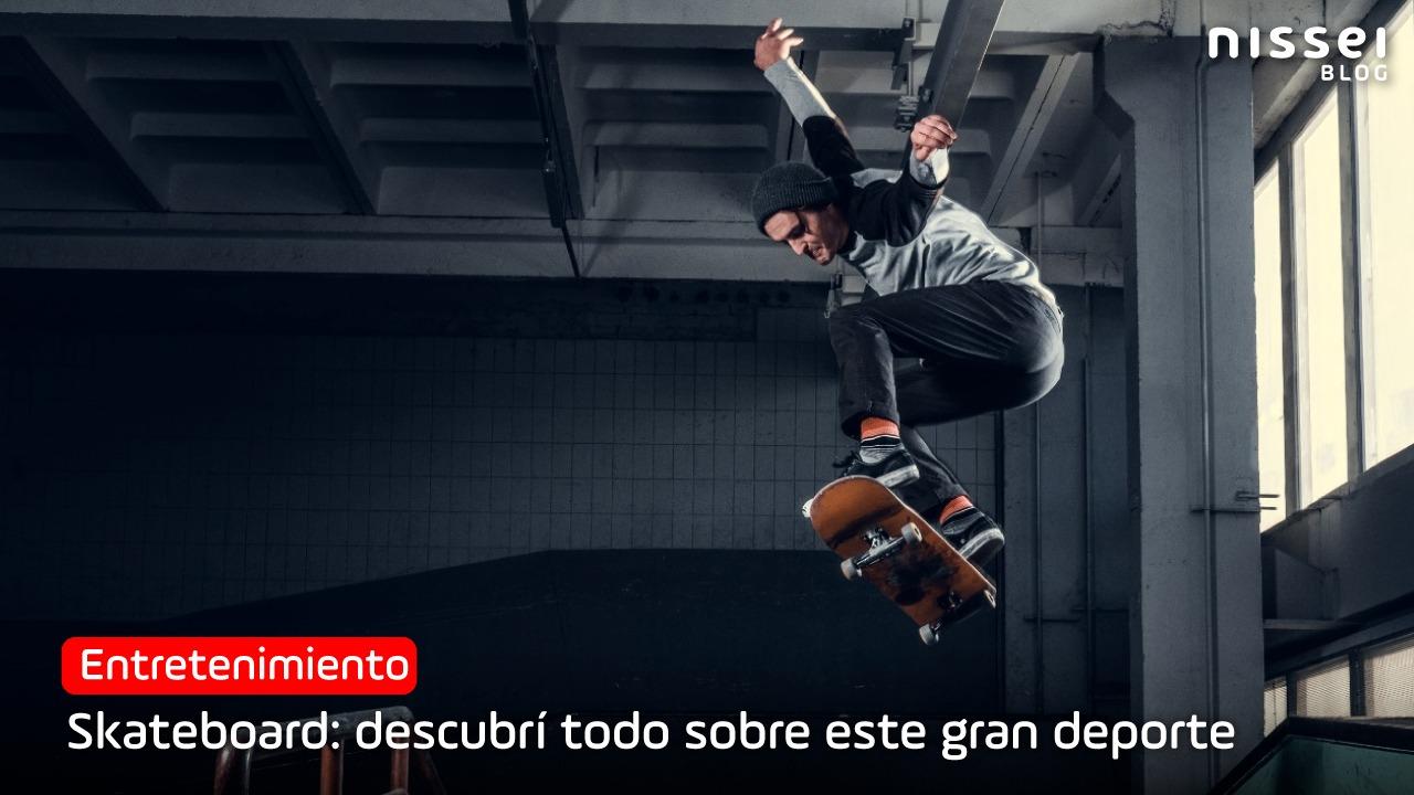 Skate: de las calles a los juegos olímpicos