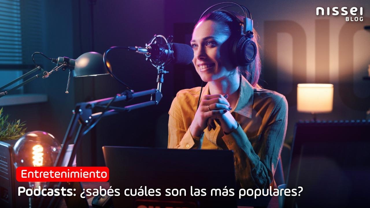 Podcasts más escuchados en Brasil y Paraguay