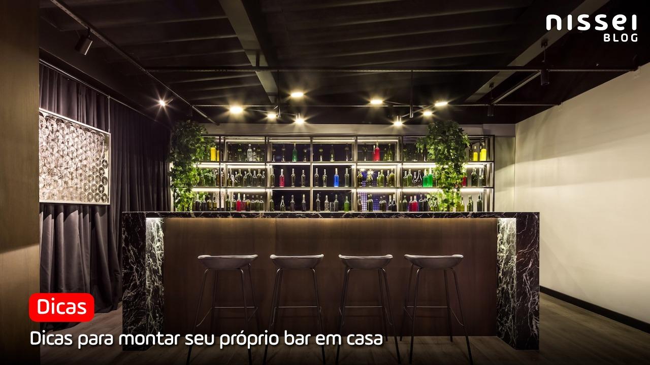 Bar em casa: o que não pode faltar