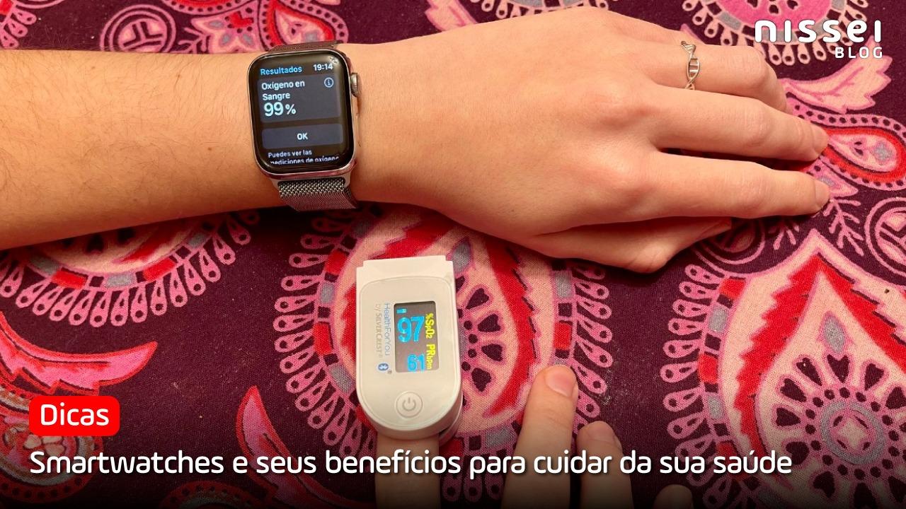 Smartwatch para melhorar a saúde