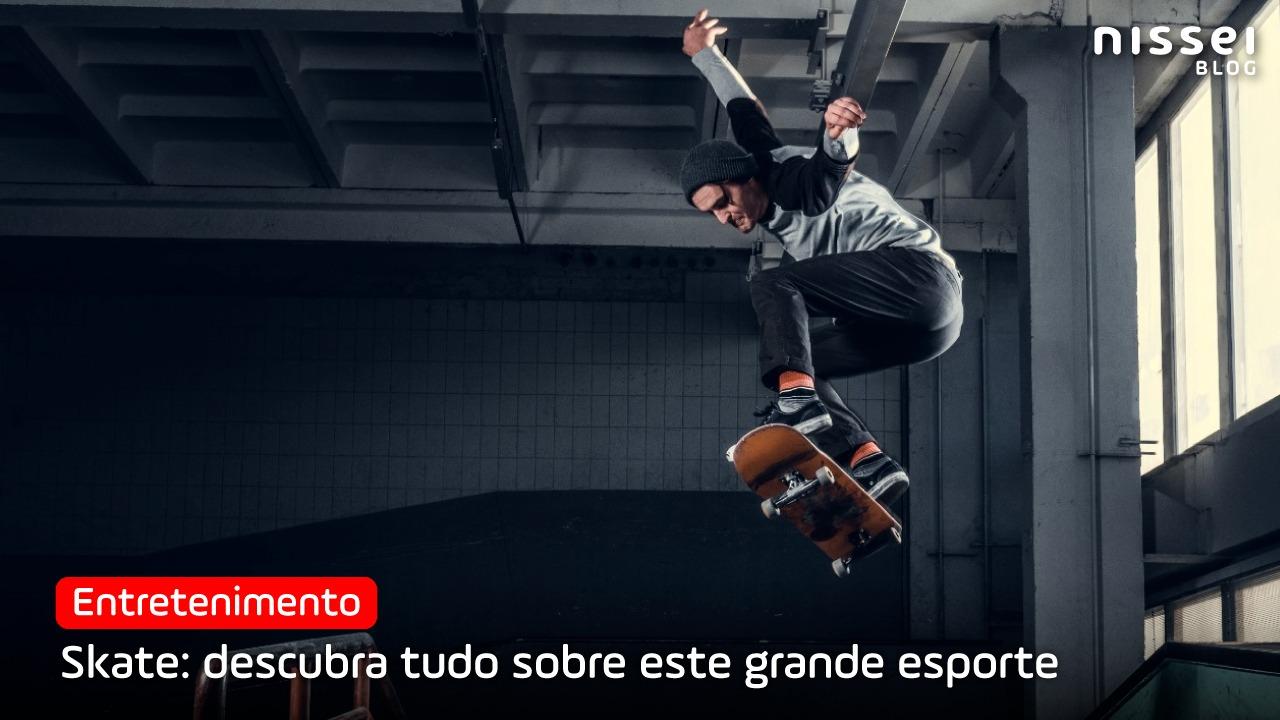 Skate: das ruas para os Jogos Olímpicos