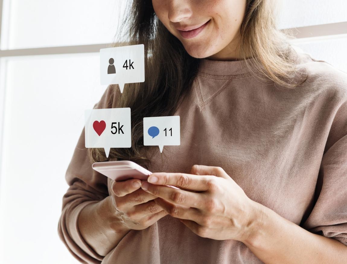 jovens se informam por redes sociais
